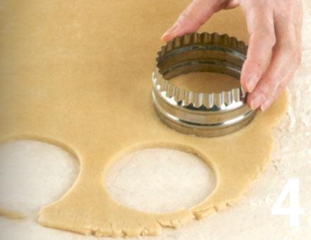 Preparacion de Galletas de mantequilla - Paso 4