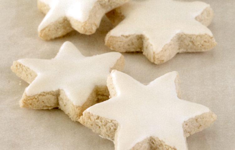 Receta de Cocina paso a paso: Estrellas de canela