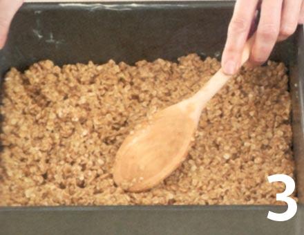 Preparacion de Barra de avena de cerezas - Paso 3