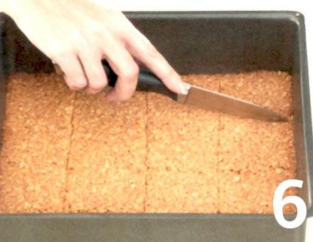 Preparacion de Barra de avena de cerezas - Paso 6