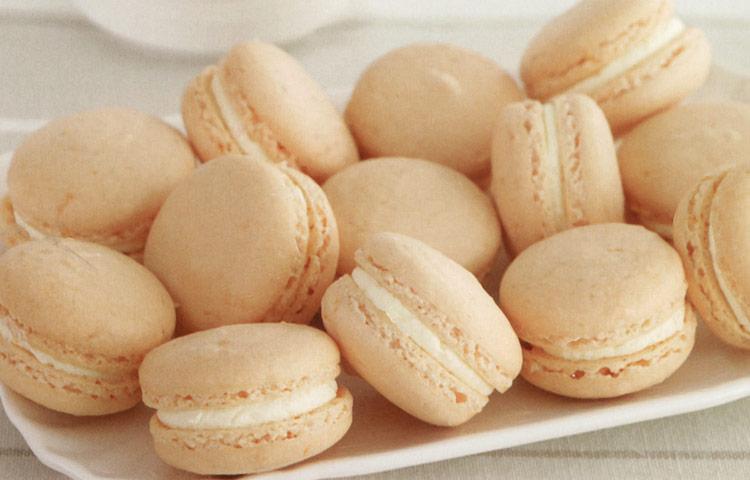 Receta de Cocina paso a paso: Macarones de Mandarina