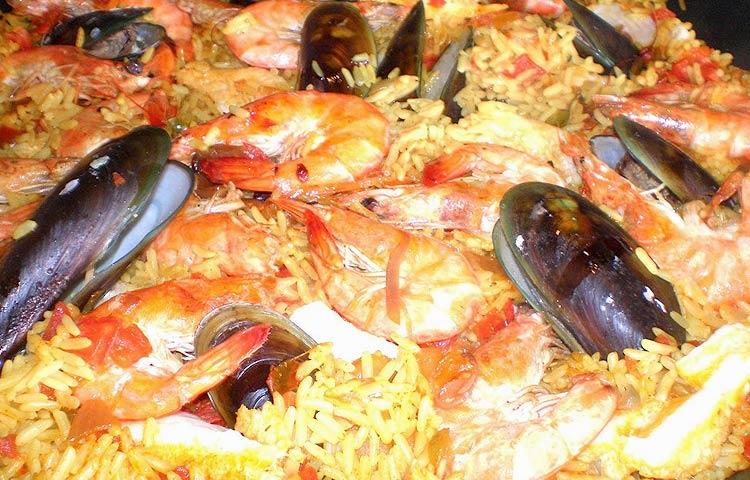 Receta de Cocina paso a paso: Paella