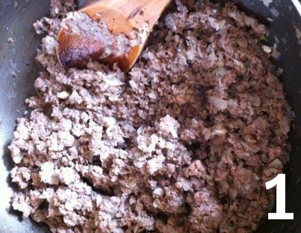 Preparacion de Pastel de Choclo - Paso 1