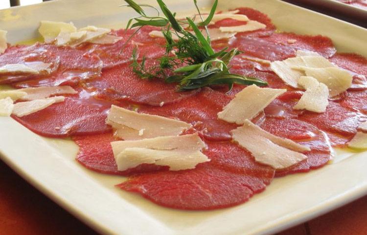 Receta de Cocina paso a paso: Carpaccio de Carne