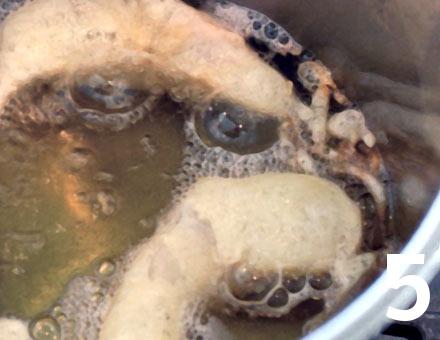 Preparacion de Merluza en Tempura - Paso 5