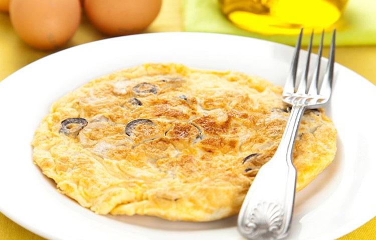 Receta de Cocina paso a paso: Tortilla para Omelette