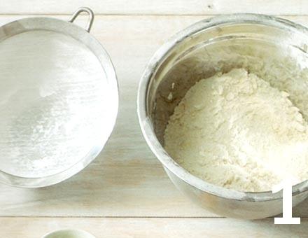 Preparacion de Mini Tartaletas de Berries - Paso 1