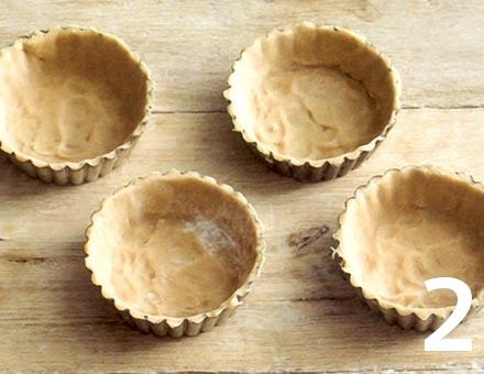 Preparacion de Mini Tartaletas de Cereza con Canela - Paso 2