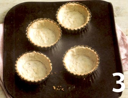 Preparacion de Mini Tartaletas de Cereza con Canela - Paso 3