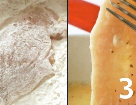 Preparacion de Escalopa de Pollo - Paso 3