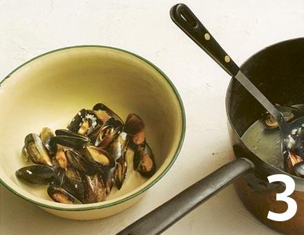 Preparacion de Mejillones al Vino - Paso 3