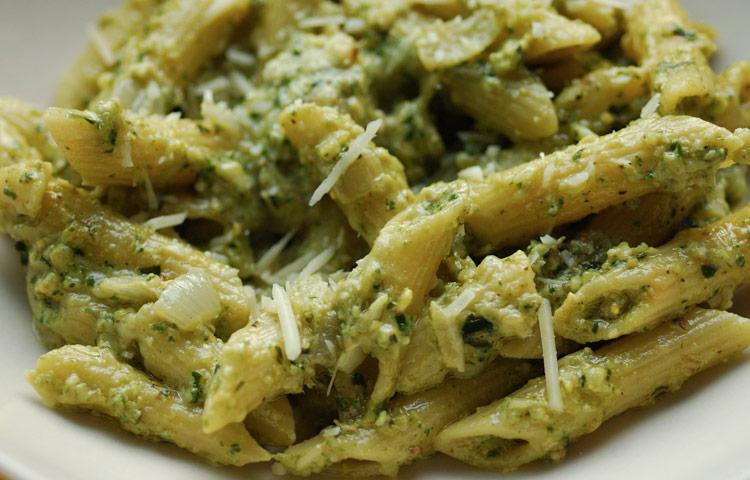 Receta de Cocina paso a paso: Pesto
