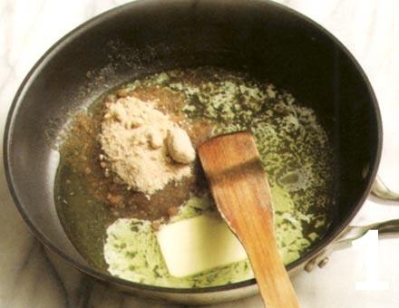 Preparacion de Manzana Caramelizada con Nueces - Paso 1