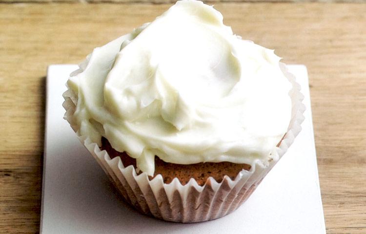 Receta de Cocina paso a paso: Cupcakes de mantequilla de maní