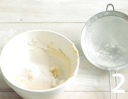 Preparacion de Galletas de cereza - Paso 2
