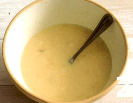 Preparacion de Queque de Plátano con Coco - Paso 2