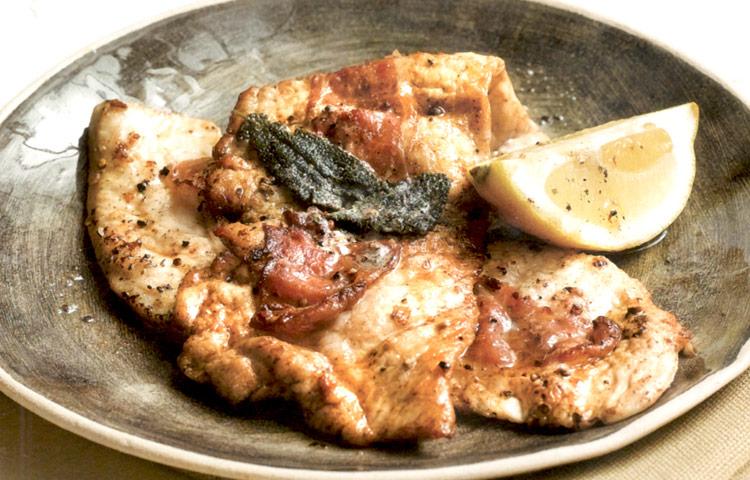 Como Cocinar Filetes De Pavo | Receta De Cocina Filetes De Pavo Con Jamon Y Salvia Preparacion