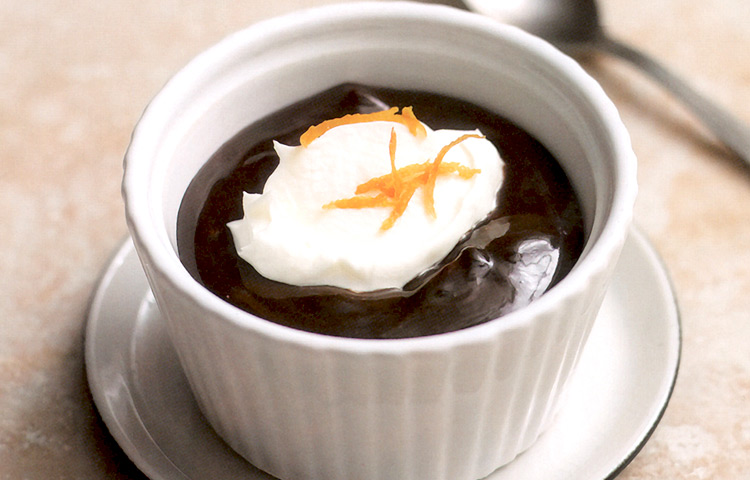 Receta de Cocina paso a paso: Chocolate a la Naranja