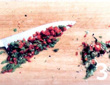 Preparacion de Entrecot a la Plancha con Salsa Picante - Paso 3