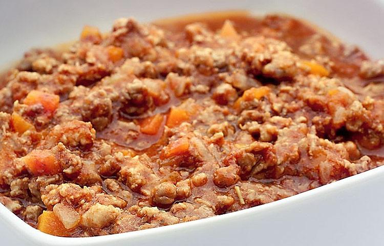 Receta de Cocina paso a paso: Salsa Boloñesa