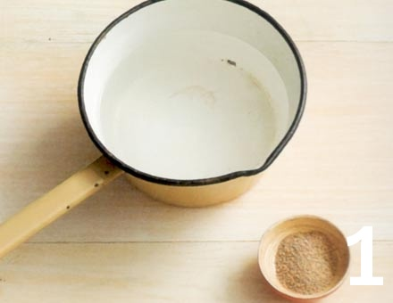 Preparacion de Sopa de Miso - Paso 1