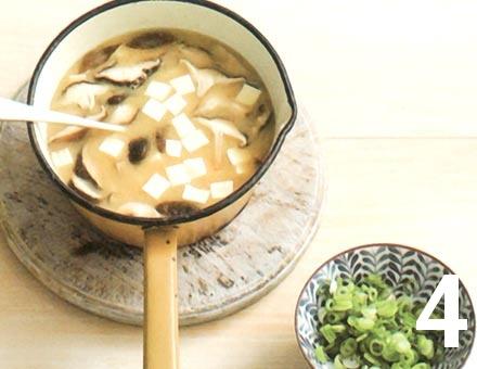 Preparacion de Sopa de Miso - Paso 4