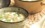 Preparación de Sopa de Miso