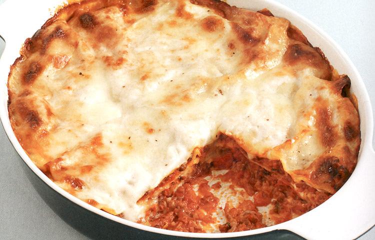 Receta de Cocina paso a paso: Lasaña a la Boloñesa