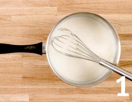 Preparacion de Lasaña con Salsa Boloñesa - Paso 1