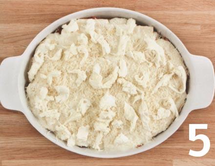 Preparacion de Lasaña con Salsa Boloñesa - Paso 5
