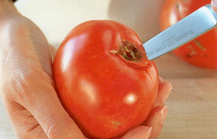 Receta de Cocina paso a paso: Cómo Pelar un Tomate Fácilmente