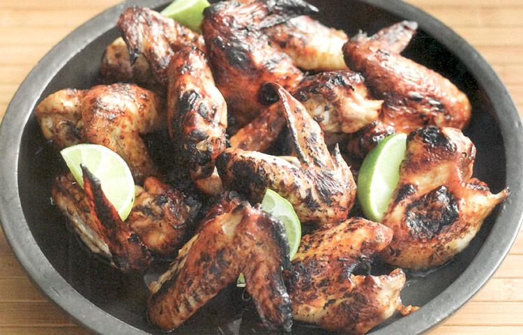 Receta de Cocina paso a paso: Alitas de Pollo con Jengibre y Soja
