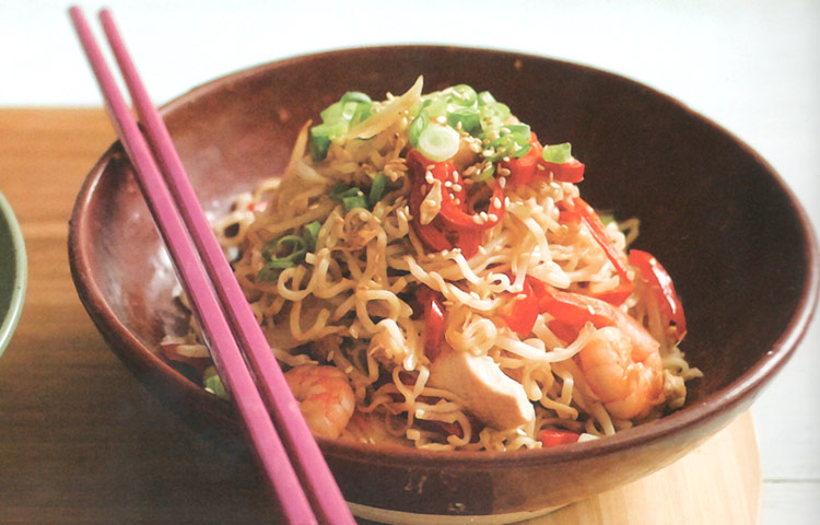 Receta de Cocina paso a paso: Yaki Soba