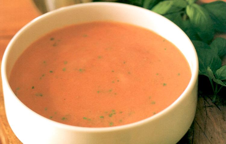 Receta de Cocina paso a paso: Sopa de Tomate