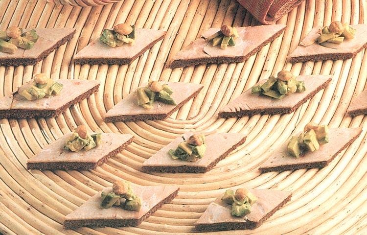 Receta de Cocina paso a paso: Canapés de Pavo