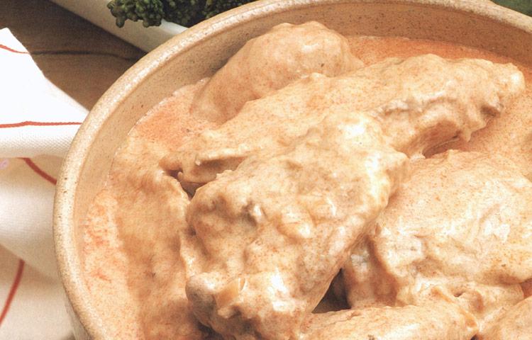 Receta de Cocina paso a paso: Pollo a la Paprika