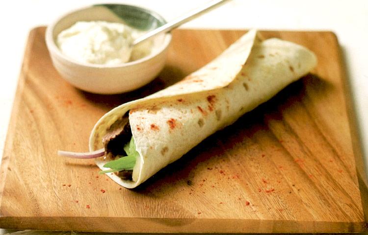 Receta de Cocina paso a paso: Tacos de Entrecot al Pimentón