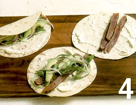 Preparacion de Tacos de Entrecot al Pimentón - Paso 4