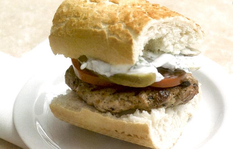 Receta de Cocina paso a paso: Hamburguesa de Cerdo con Romero