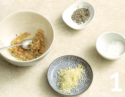 Preparacion de Chuletas de Cordero, Crujientes con Naranja y Limón - Paso 1