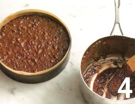 Preparacion de Tarta de Chocolate sin Cocción - Paso 4