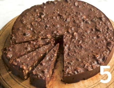 Preparacion de Tarta de Chocolate sin Cocción - Paso 5
