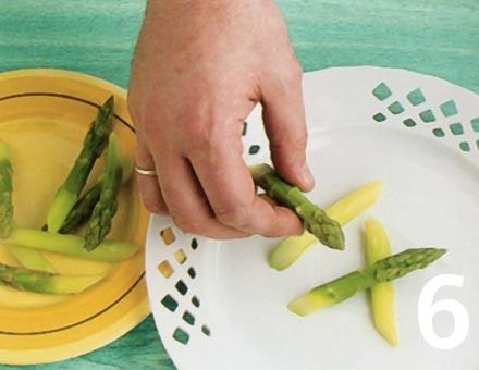 Preparacion de Ensalada de Espárragos - Paso 6