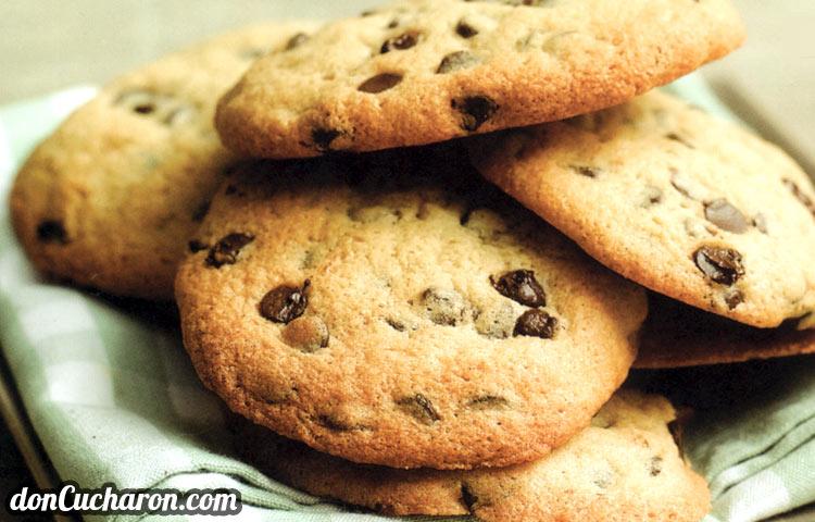 Receta de Cocina paso a paso: Galletas con Chips de Chocolate