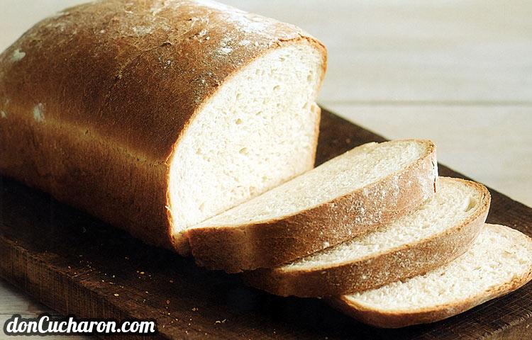 Pan de Molde Blanco cmo preparar esta receta de cocina