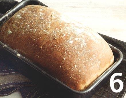 Preparacion de Pan de Molde Blanco - Paso 6