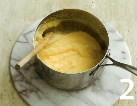 Preparacion de Receta de Cocina: Polenta Gratinada - Paso 2