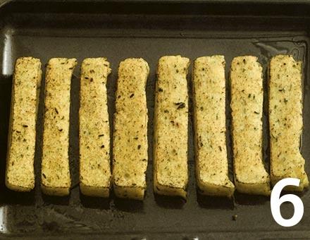 Preparacion de Receta de Cocina: Polenta Gratinada - Paso 6