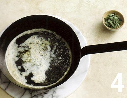 Preparacion de Receta de Cocina: Ternera con Jamón y Salvia - Paso 4