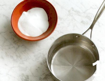 Preparacion de Receta de Cocina: Granizado de Limón - Paso 1
